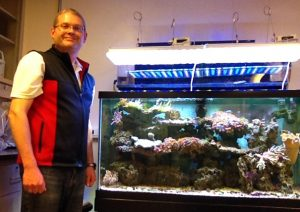Tony with Aquarium, 12 May 16